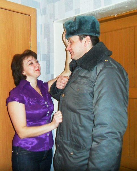 Жена трахнула милиционера