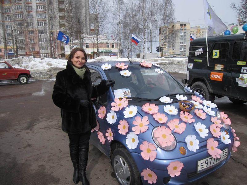Как украсить автомобиль на конкурс